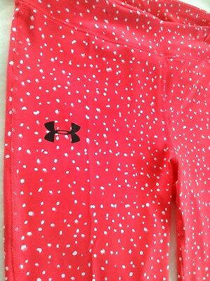 NWT Under Armour Girl's Cropped Leggings Capri Pant Size Large Retail $34.99 6