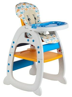 FoxHunter Baby Highchair Infant High Feeding Seat 3in1 Toddler Table Chair New 10