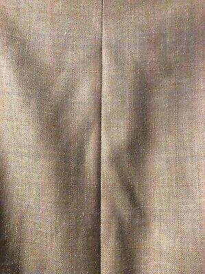 ***EUC*** Ralph Lauren Men's Silk Wool Linen Tan Brown Jacket Blazer • Size 44L 7