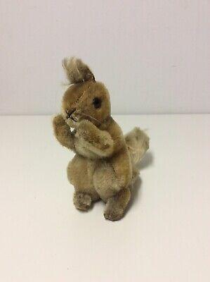 Vintage Steiff Squirrel Plush No Tag No ID Hard To Find! 8