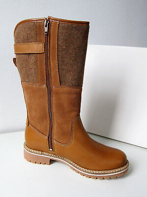 TAMARIS STIEFEL BOOTS Warm nut cognac 38 Boots Wool brown