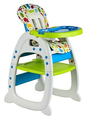 FoxHunter Baby Highchair Infant High Feeding Seat 3in1 Toddler Table Chair New 6