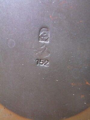 German Hand-Hammered Arts & Crafts Vase - WMF -  No.152 7