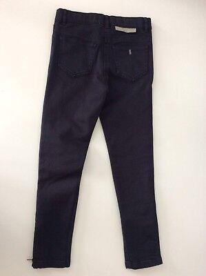 Stella McCartney Black Skinny Stretch Boys Jeans Vgc Age 8 9