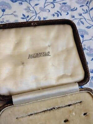 Antique Early Austin Reed Regent Street London Cufflink Stud Button Box 19 99 Picclick Uk