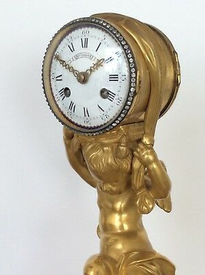French Ormolu Mantle Clock By Henry Dasson Circa 1870. 9