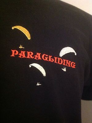 MENS EMBROIDERED PARAGLIDING PARACHUTING BIRTHDAY FATHERS DAY GIFT BOXED SOCKS