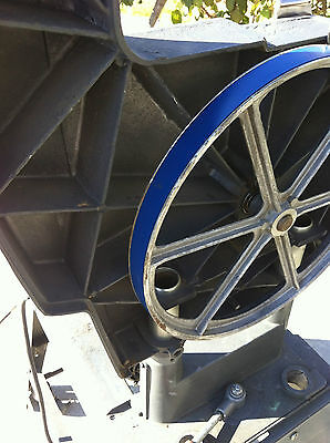 "2 BLUE MAX URETHANE BAND SAW TIRES FOR RAM 14/"" BAND SAW"