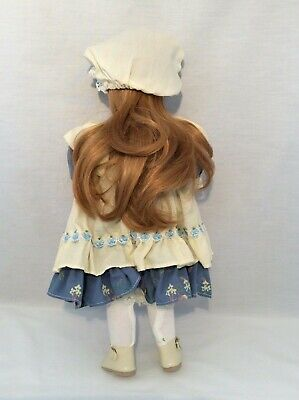 "Vintage CHSN La Collection Artisan 1990 ANNIE LAURIE 14"" doll limited edition 6"