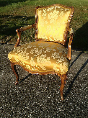 Baroque Chair Armchair Louis XV Art furniture Rococo Antique Vintage Type