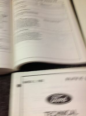 1996 Ford Cargo Truck Service Shop Repair Workshop Manual Set W ...