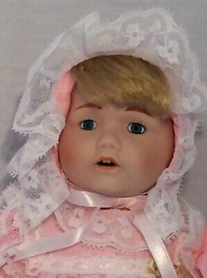 """Vintage CHSN La Collection Artisan 1990 TERRILEE 12"""" doll limited edition Music 2"""