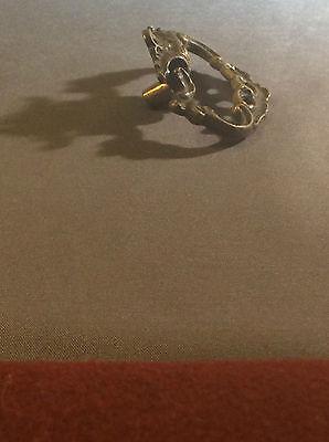 Antique brass drawer pulls 4