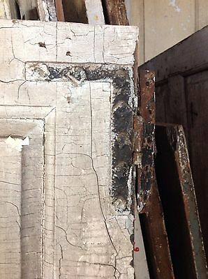 Antique Door New England 18th Century Interior 4 Raised Panel Door H L Hinges X 3