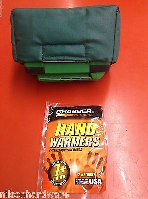Ion Ice Auger Insulated 40V Battery Cover Warmer Keep Battery from Getting Cold