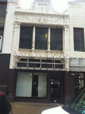 3 Story Terra Cotta Building Facade Front Cherubs Dolphins 35 Feet Tall 5