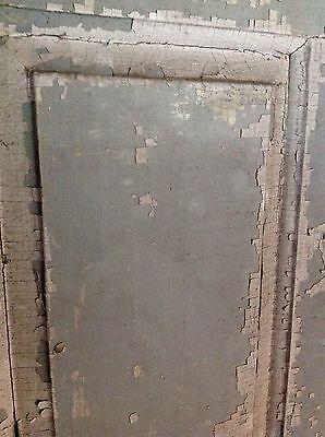 ANTIQUE DOOR NEW ENGLAND 18th CENTURY INTERIOR 3 RAISED PANEL DOOR 3