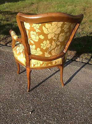 Baroque Chair Armchair Louis XV Art furniture Rococo Antique Vintage Type 5