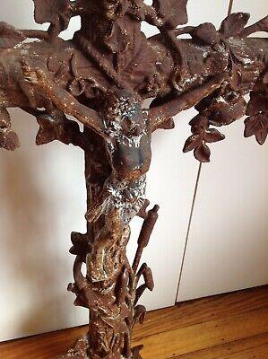 cast iron cross crucifix French 8
