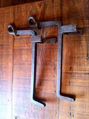 Antique Cast Iron Log Holders 7
