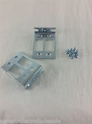 Screws included new ready to ship ACS-2801-RM-19 for Cisco rack mount kit