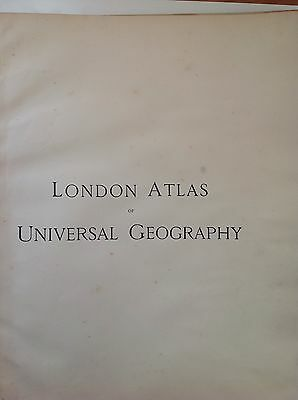 Stanford's Map British Isles c1880 London Atlas Universal Geography Orginal Rare 2