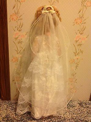 Vintage Bride Doll - Marked A 4