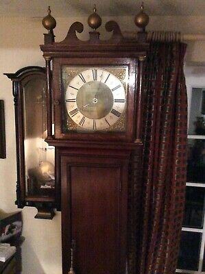 William Greagsbey , Lamberhurst, 30 Hour Long Case Clock, Movement Restored. 4