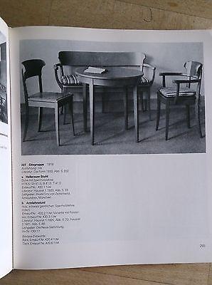 Richard RIEMERSCHMID Hellerau Chair Deutscher Werkstatten Art Nouveau Jugendstil 11