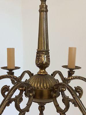 Antique Style Brass Chandelier 2