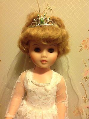 Vintage Bride Doll - Marked A 2