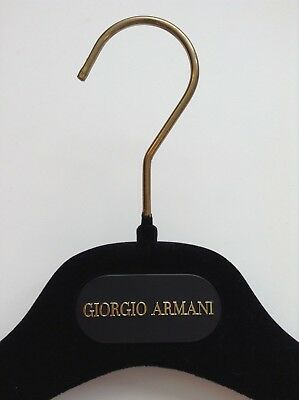 Giorgio Armani Luxury Velvet Designer Hanger Thick Suit/jacket New Unused