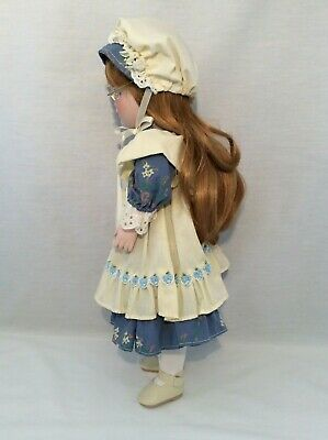 "Vintage CHSN La Collection Artisan 1990 ANNIE LAURIE 14"" doll limited edition 5"