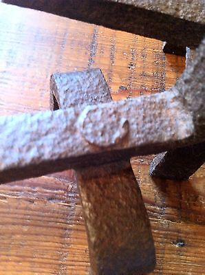 Antique Cast Iron Log Holders 5