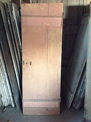 ANTIQUE DOOR NEW ENGLAND 18th CENTURY INTERIOR 2bd BATTEN 3