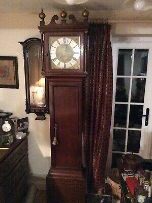 William Greagsbey , Lamberhurst, 30 Hour Long Case Clock, Movement Restored. 3