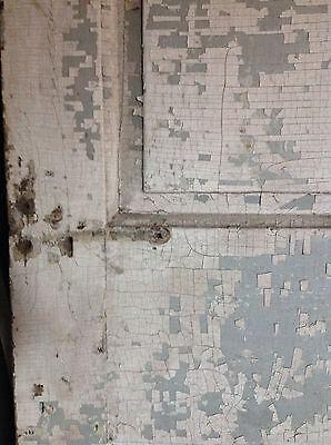 ANTIQUE DOOR NEW ENGLAND 18th CENTURY INTERIOR 3 RAISED PANEL DOOR 2
