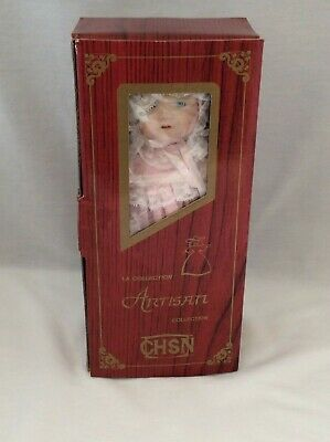 """Vintage CHSN La Collection Artisan 1990 TERRILEE 12"""" doll limited edition Music 10"""