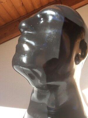 Latexmaske, Reißverschluß, Latex-Maske, rubber mask zip, N1,1 3