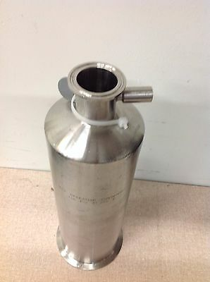 "Biogen 316 SS Filter Housing 150PSI 250°F 13-1/2""H x 4""D 2"