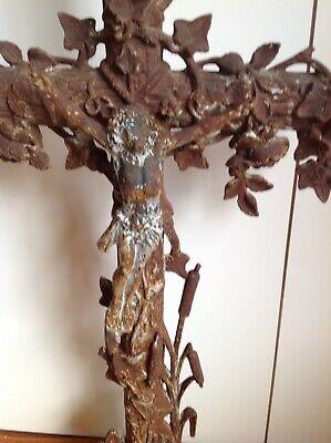cast iron cross crucifix French 2