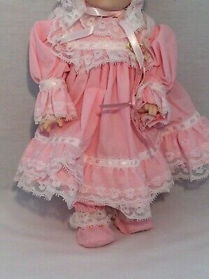 """Vintage CHSN La Collection Artisan 1990 TERRILEE 12"""" doll limited edition Music 3"""