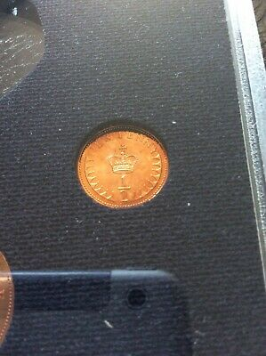 1976 Uncirculated Proof  Half Penny Piece. 1976 1/2P Coin. 2