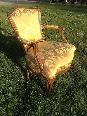 Baroque Chair Armchair Louis XV Art furniture Rococo Antique Vintage Type 2