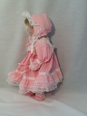 """Vintage CHSN La Collection Artisan 1990 TERRILEE 12"""" doll limited edition Music 4"""
