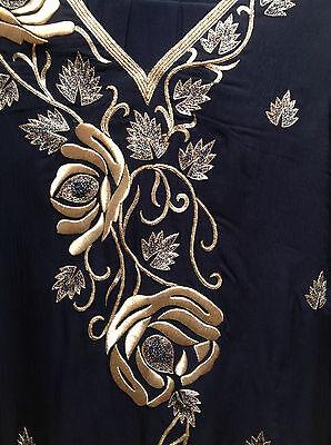 Blue Salwar Kameez Suit & Dupatta   Medium   Ret £250   Bnwt 7