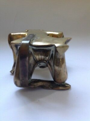 Antique brass oriental Chinese figure 5
