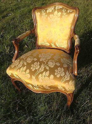 Baroque Chair Armchair Louis XV Art furniture Rococo Antique Vintage Type 10