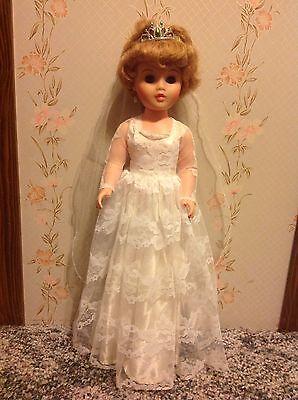 Vintage Bride Doll - Marked A 3