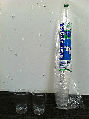 Wine taster 62 ML Plastic Clear 40 sleeves x 25 pieces (1000 /Carton ) 6